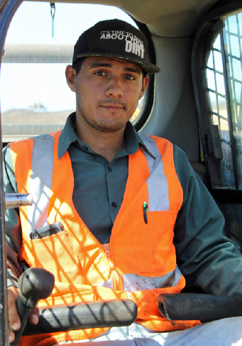 Alex Lopez | SPVS Lead Equipment Operator
