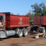 SPV Soils Delivery Truck
