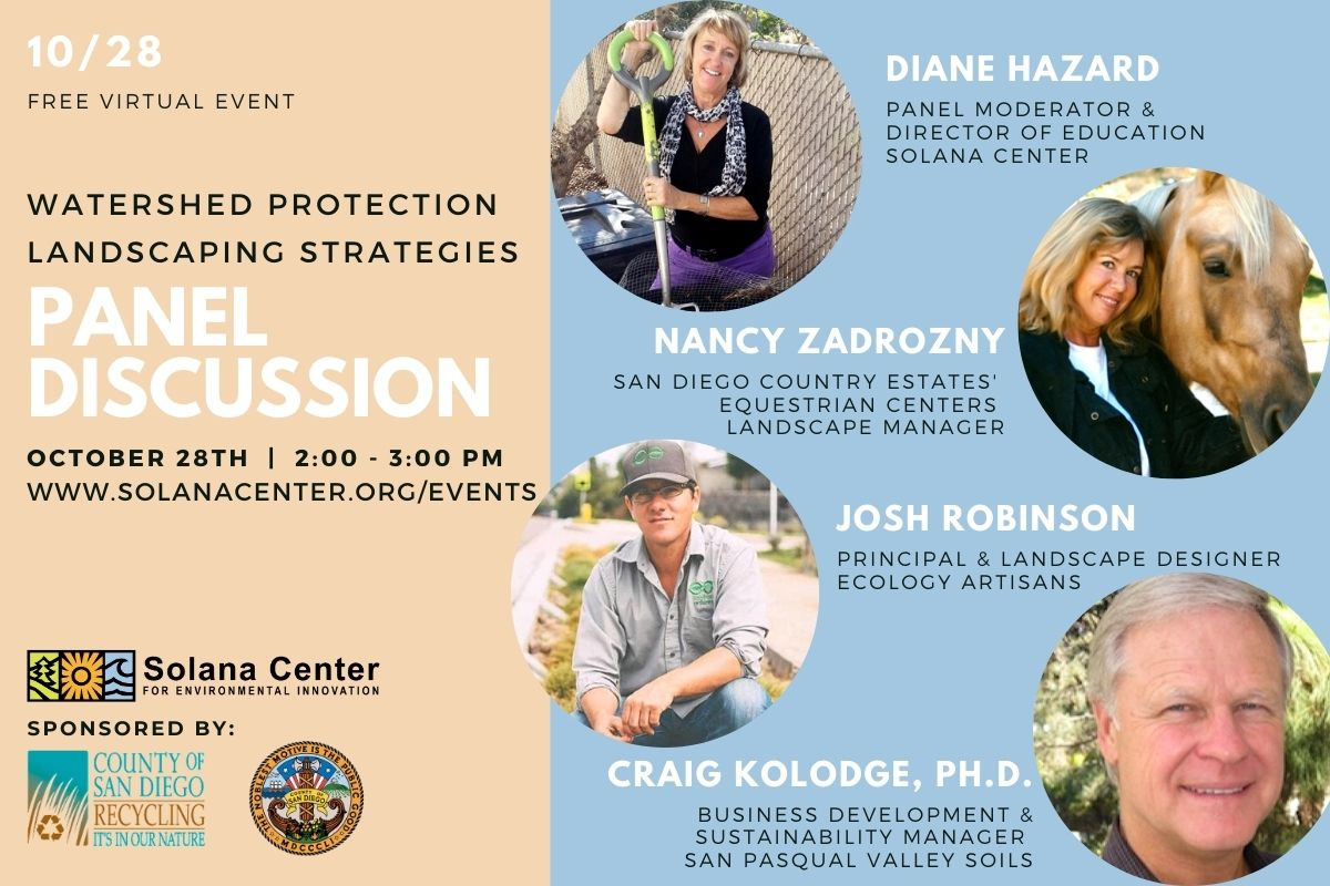 Watershed Protection Landscaping Strategies Webinar 10.28.20