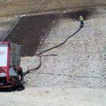 Blower Mulch Install 5 | SPVS