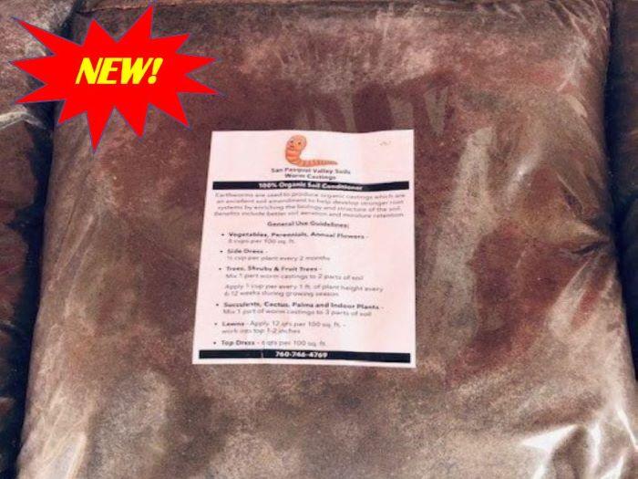 SPVS Worm Castings Organic Soil Conditioner